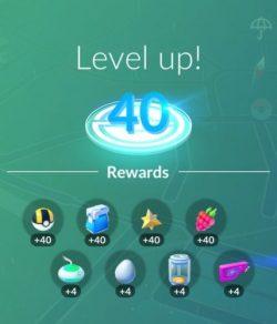 Level 40!